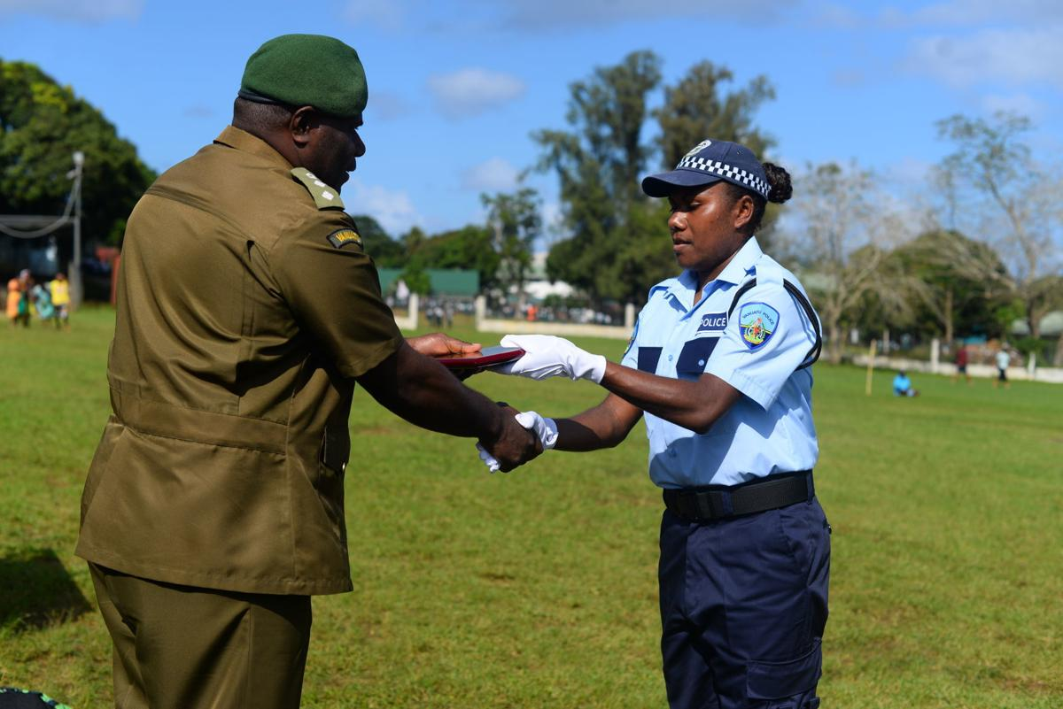New recruits urged to show discipline and serve with integrity