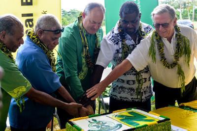 Clarification: MOU between Vanuatu Gov't and NBV