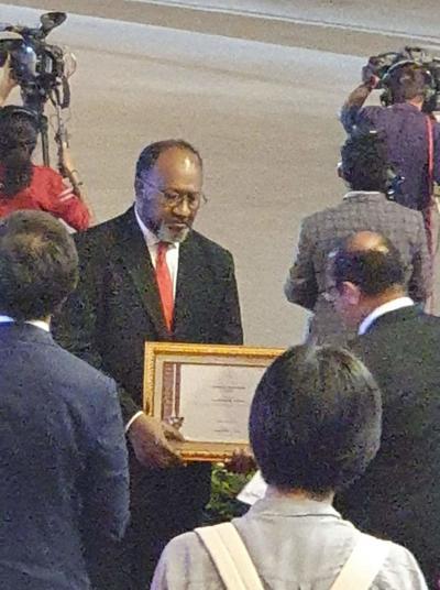 Vanuatu awarded special medal by Timor Leste Gov't