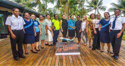 Air Vanuatu emerges  as a leader in gender diversity