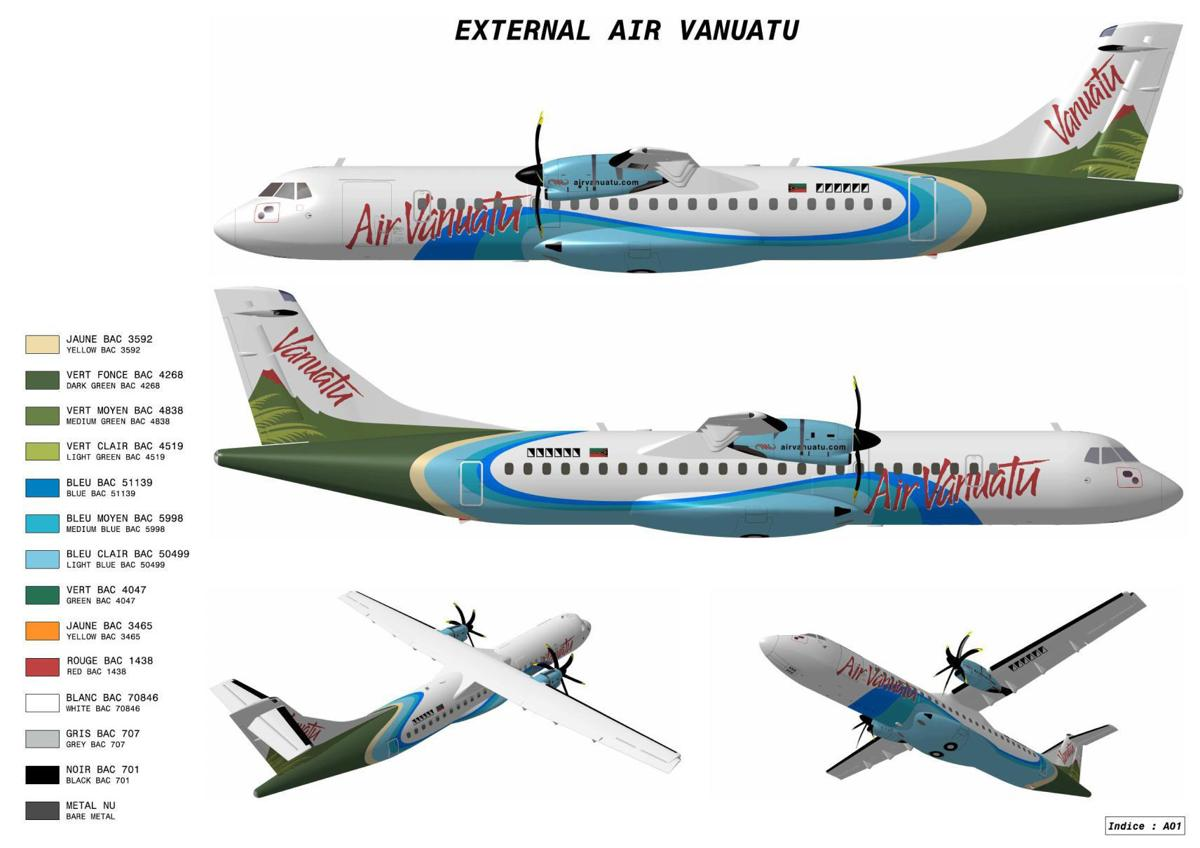 New ATR 72-600 for Air Vanuatu   News   dailypost.vu