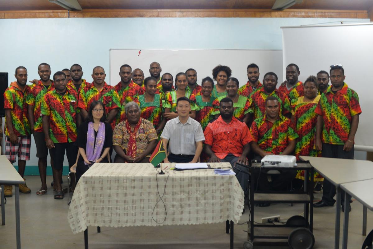 28 ni-Vanuatu youth return from training in China