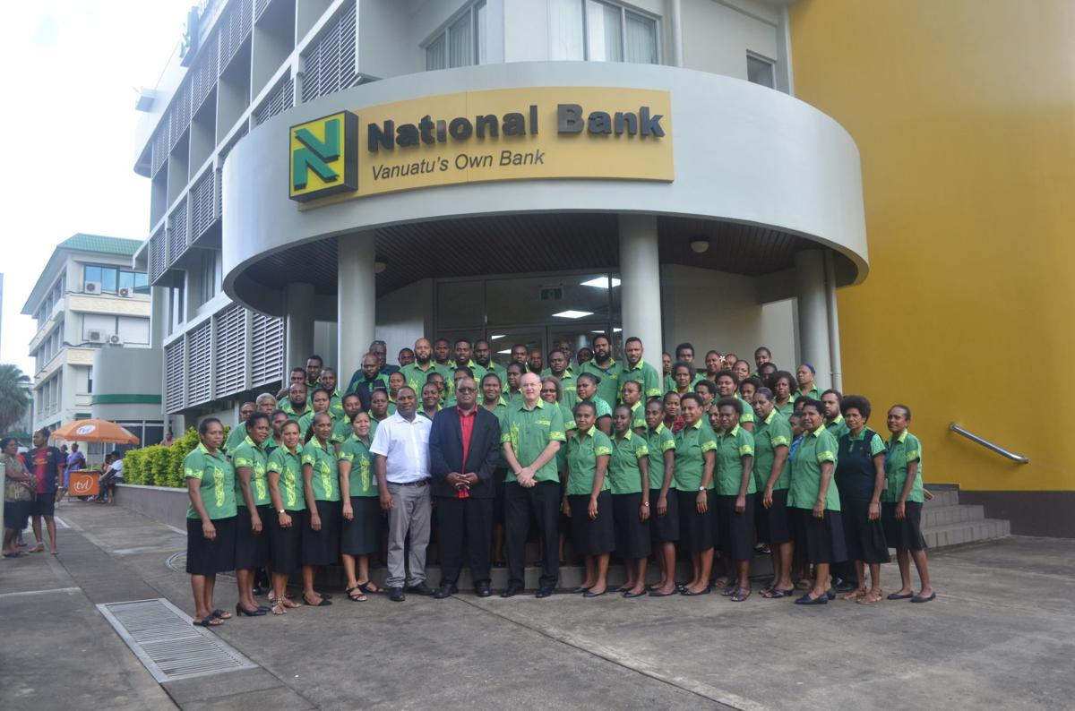 Minister Pikioune officially launched NBV's Premium Banking Center