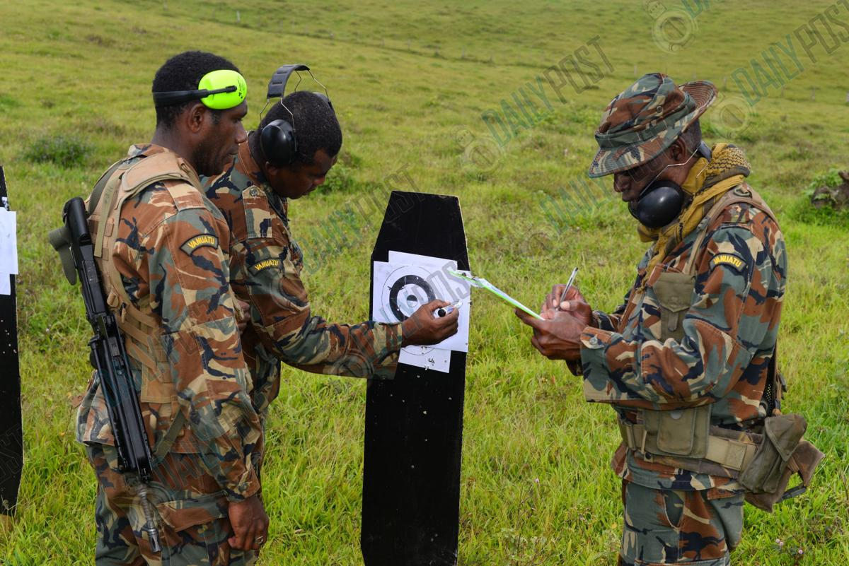 70 Engaged in VMF Shooting Exercise