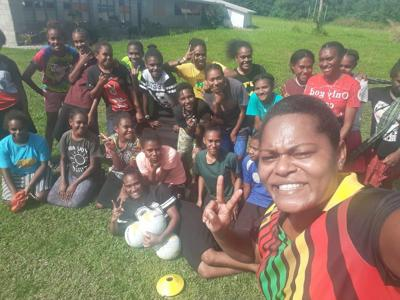 Netgo Vanuatu on the move to introduce netball to grass-root level