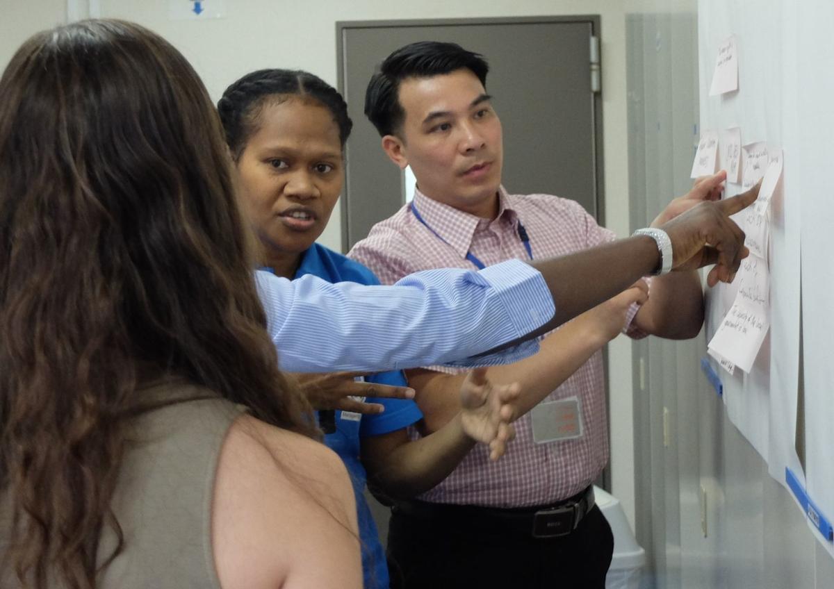 JICA Vanuatu welcomes NDMO's Senior Information officer from training