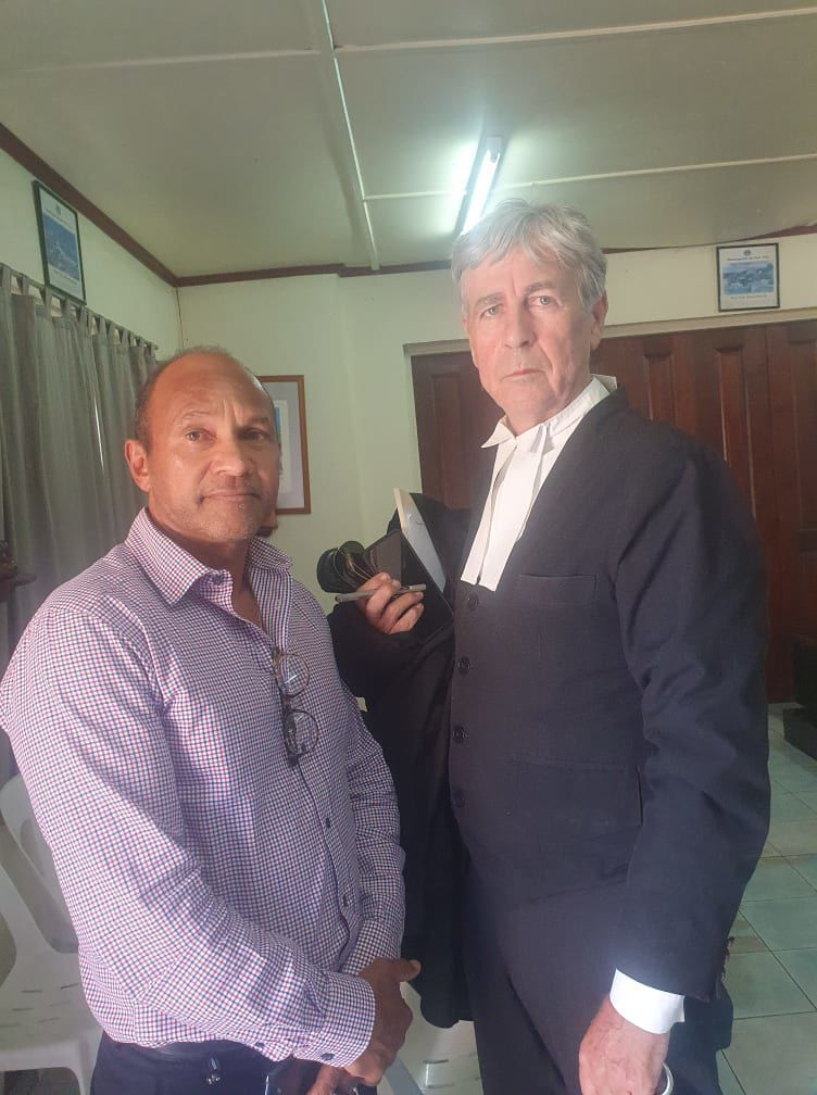 Government's Constitutional Application against Speaker Dismissed