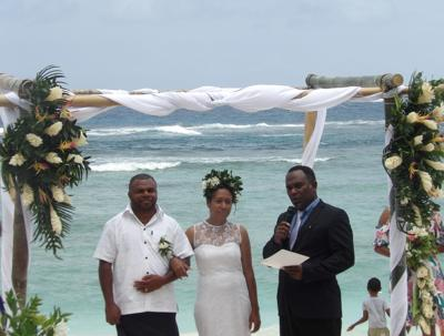 Madang 'meri' seals Love for Vanuatu through marriage