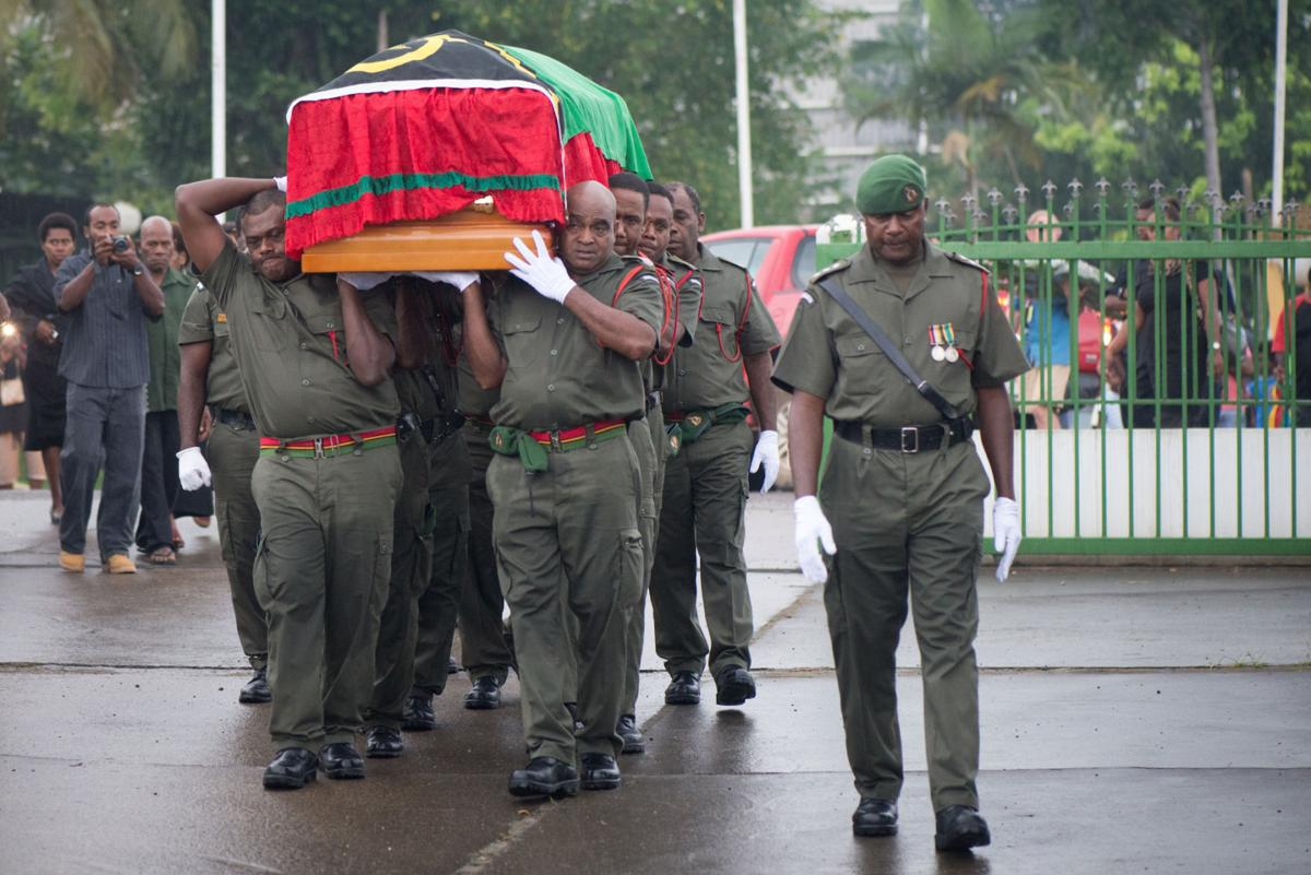 Farewelling the President