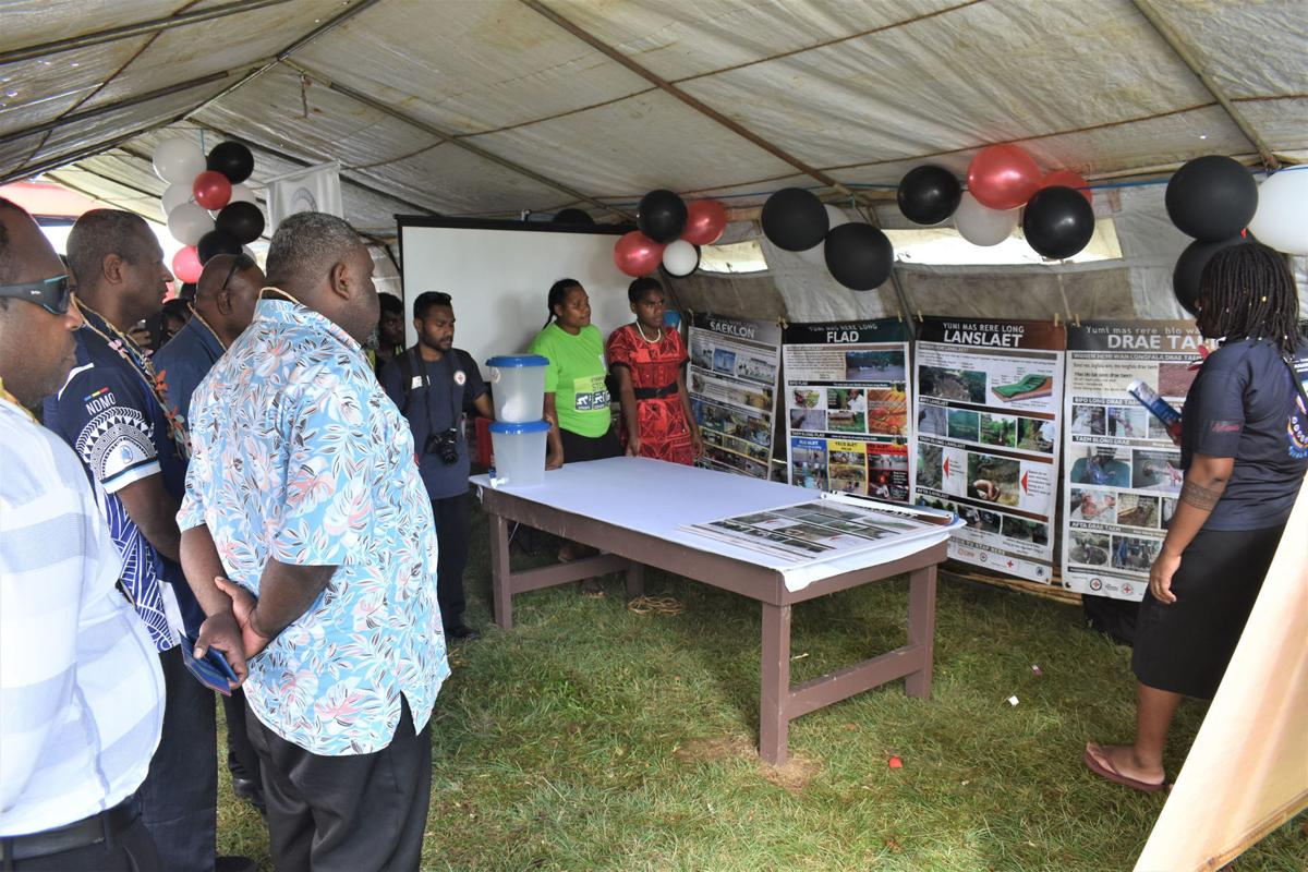 3-Day Disaster Risk Reduction Underway in Luganville