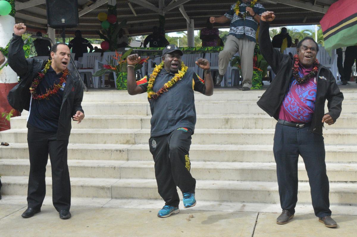 Go and represent Vanuatu well: Acting PM Napat