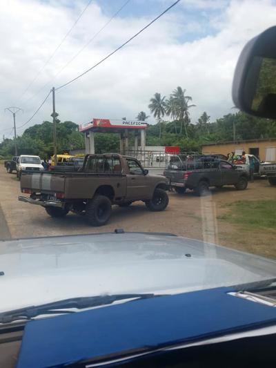 Tanna fuel shortage