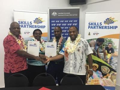 Government commits Vt3million for 'Skills for Tourism'