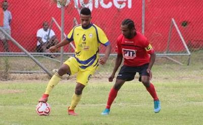 Exciting football actions from Port Vila League's Anniversary tournament