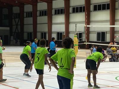 Another round of exciting volleyball Independence actions