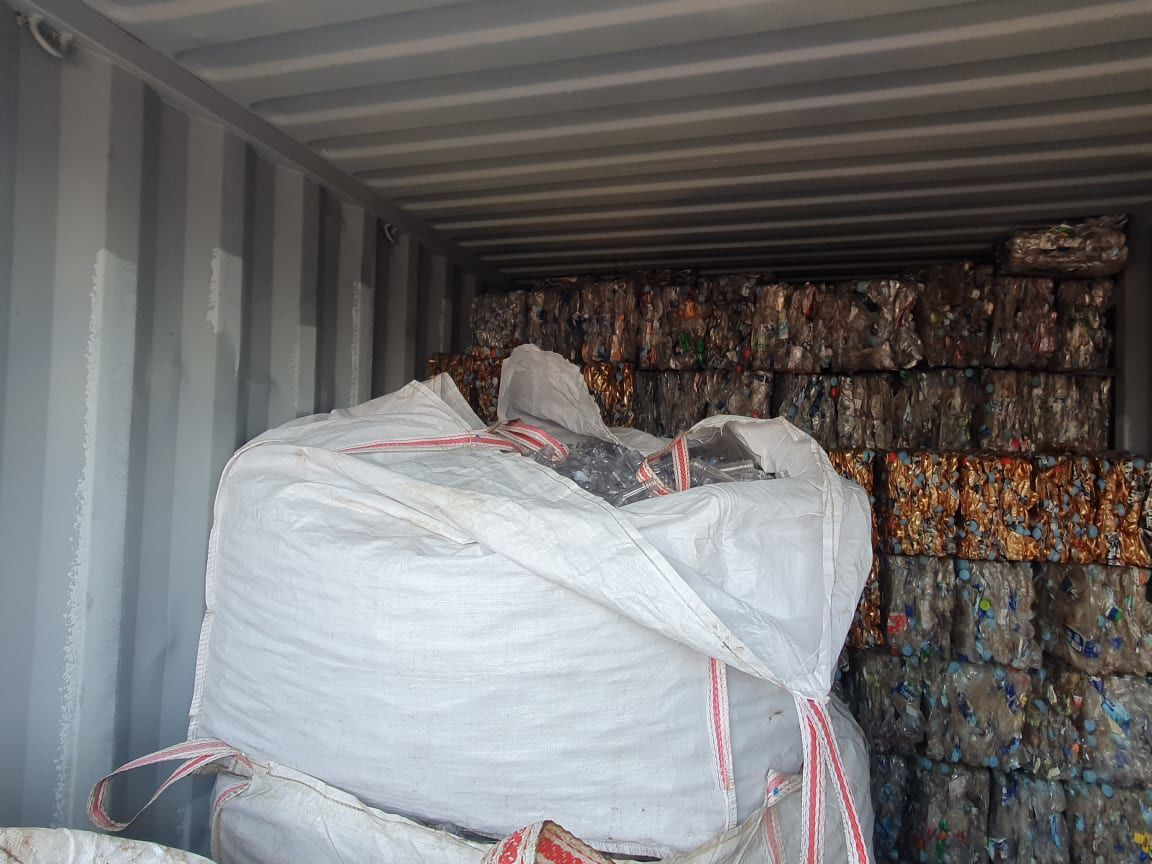 First export of plastics for recycling soon