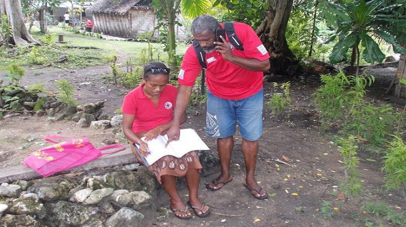 Vanuatu Red Cross trains volunteers to help in fight against dengue