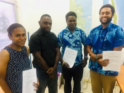 Oceans Interns Engaged