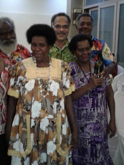 Five Parliament Retired Staff