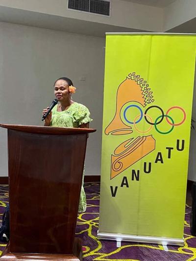 Julia King re-elected into VASANOC executive