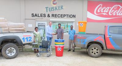 VBL Donates Medical Supplies to VCH
