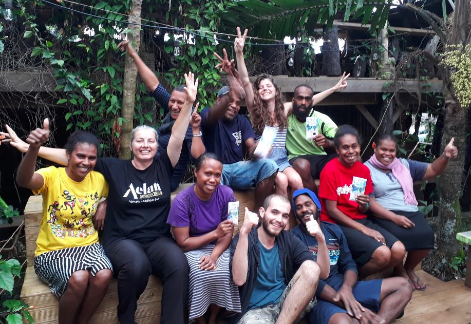 Gold for Vanuatu Aelan Chocolate Makers!