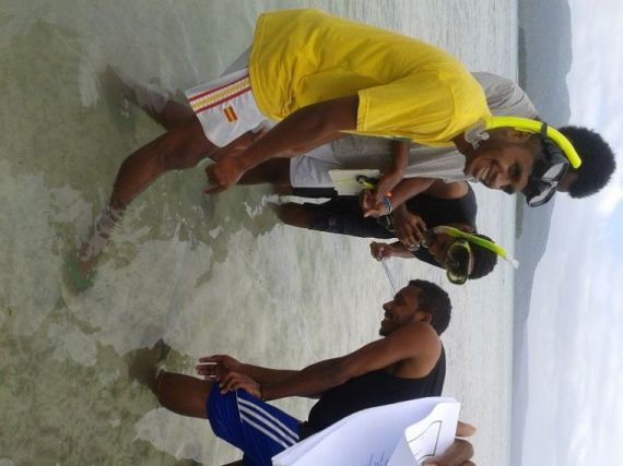 Malapoa Reef Check Sea Grass Watch 2