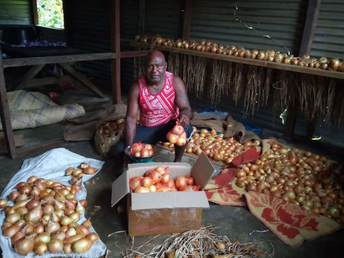 Epi farmers to harvest over 10 tonnes of onions