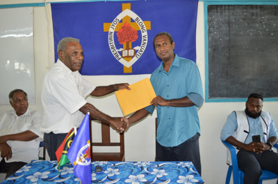 NDMO receives assistance from Presbyterian Church of Vanuatu
