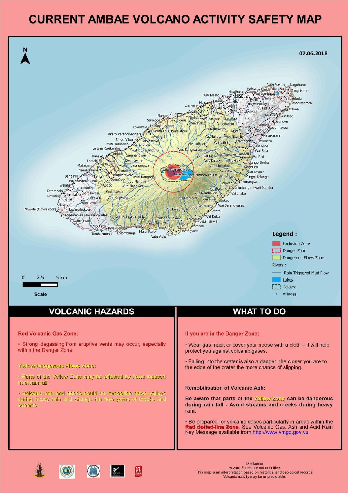 Ambae volcano activity now stable: VMGD