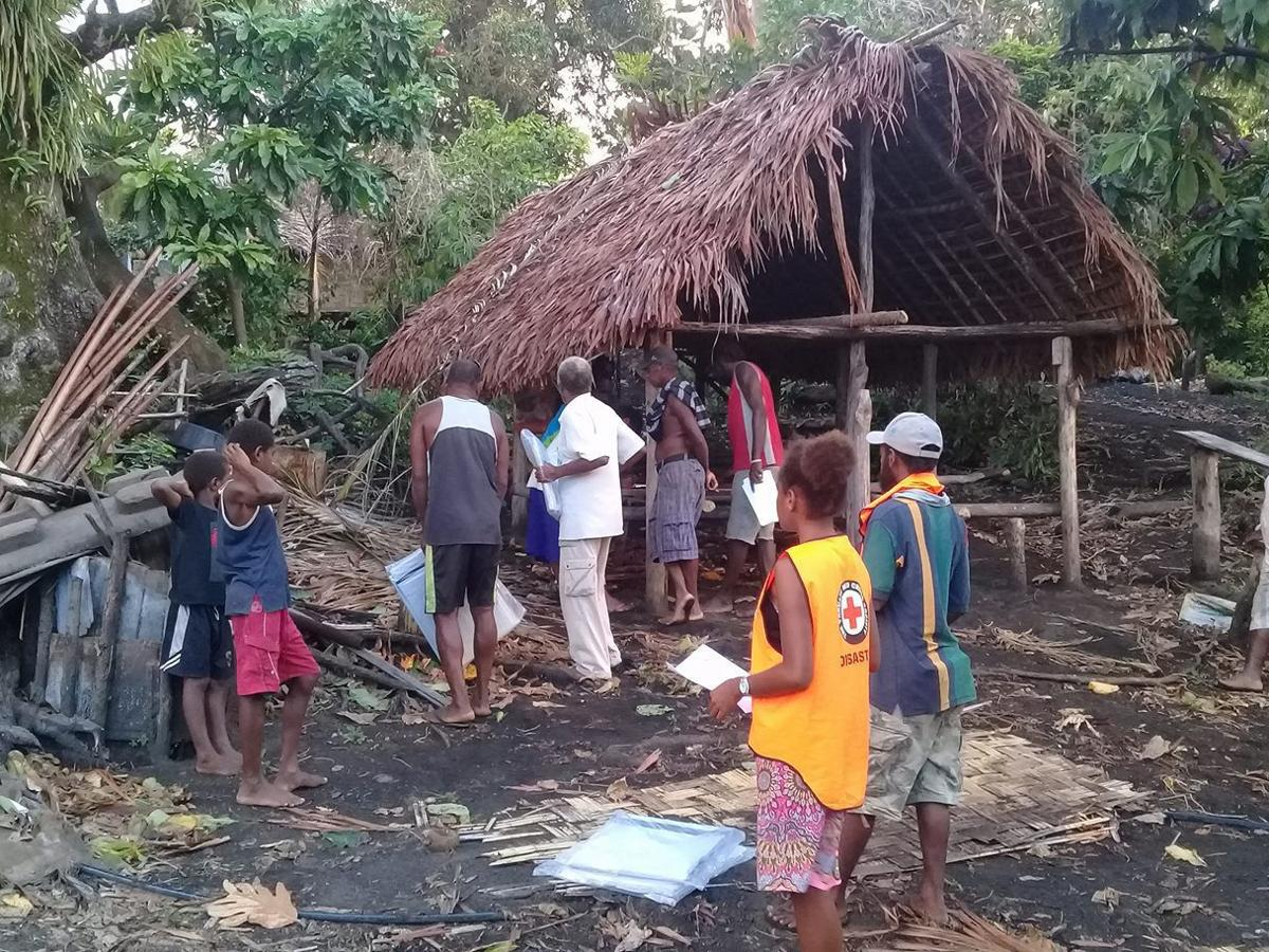Cyclones, eruptions, floods – all in a day's work for Vanuatu Red Cross