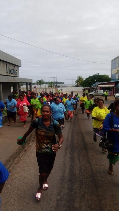 Over 100 participate in Tsunami Drill
