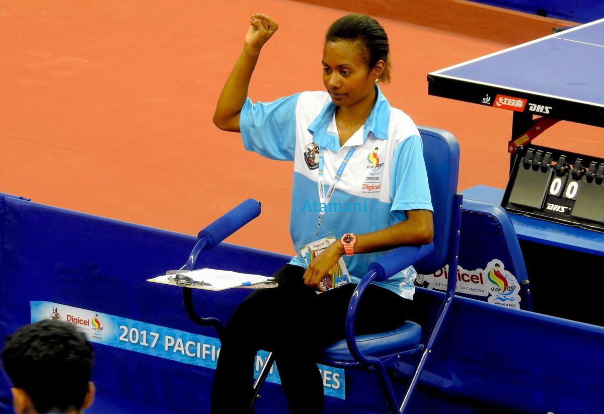 Vanuatu Table Tennis Umpire awarded scholarship