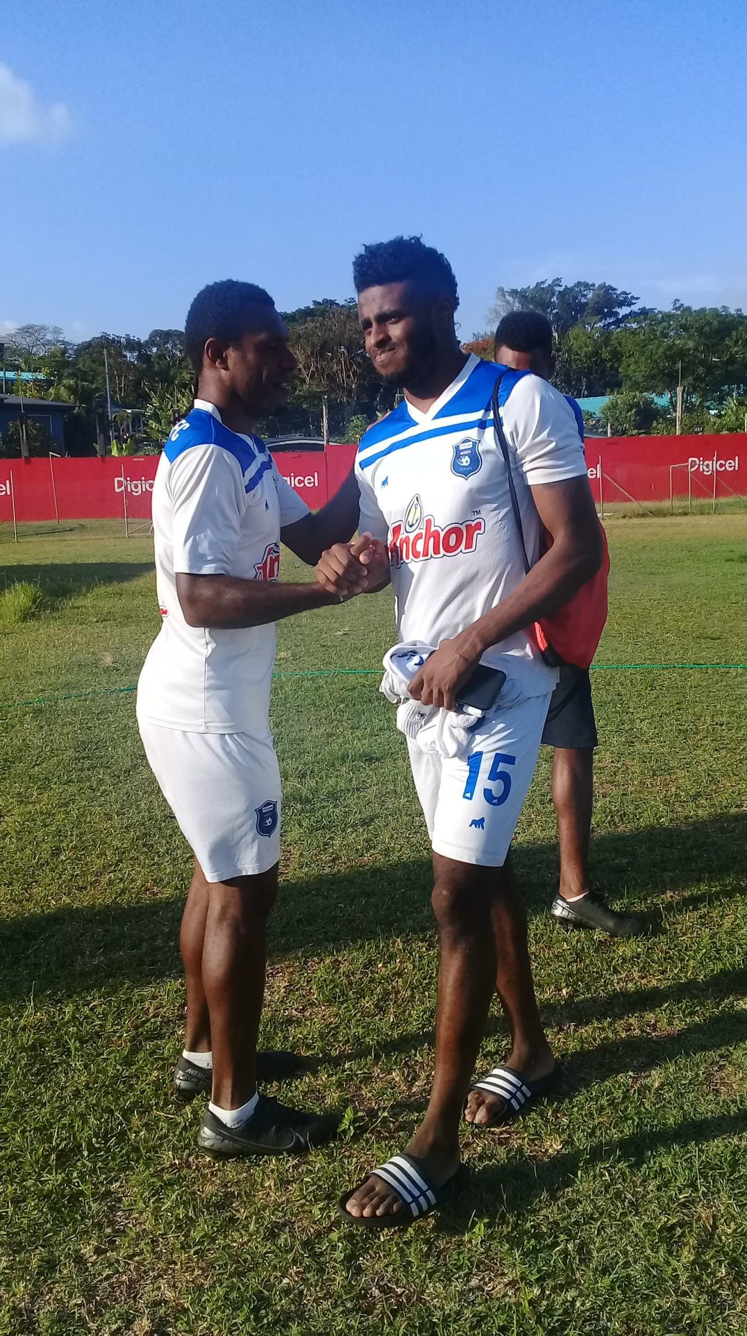 I want to win it for ABM Galaxy FC: Carter