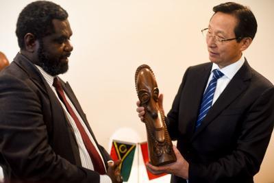 Vanuatu sought to support China's FAO candidate