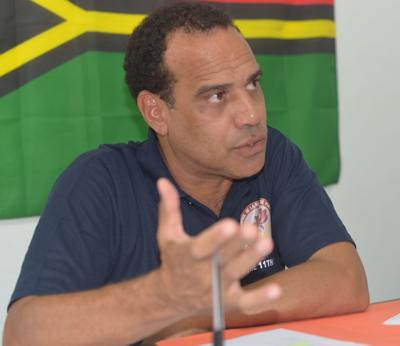 Opposition Leader MP Ralph Regenvanu