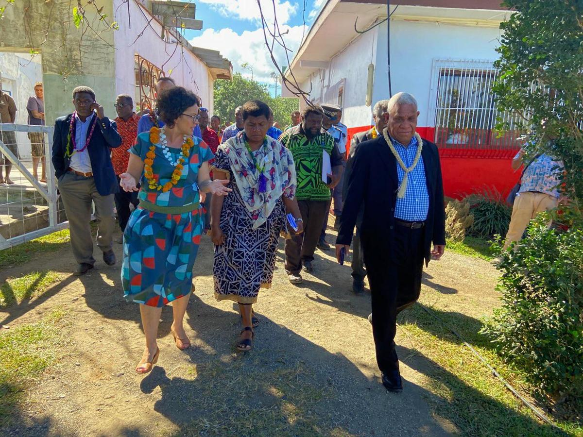 Prime Minister and Australian High Commissioner launch Tafea Cooperative Guest House