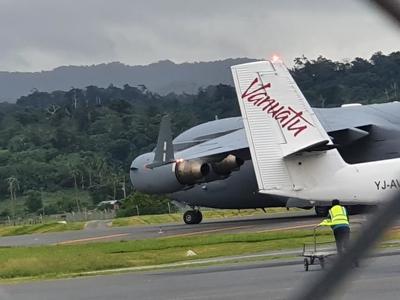 New Caledonia delays Vanuatu plane departure over debt