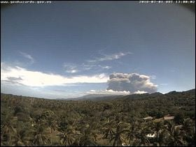 Communities warned of possible imminent eruption at Lombenben