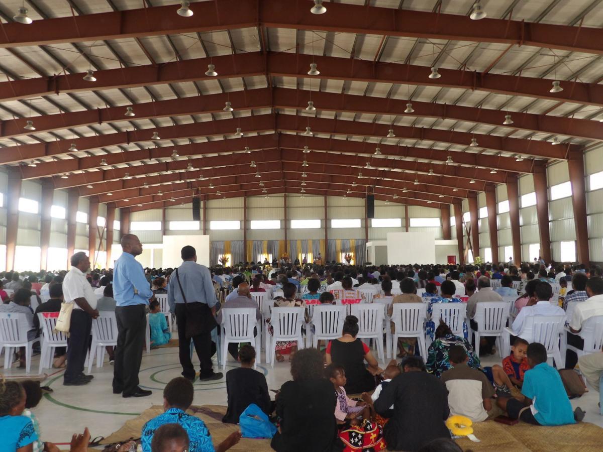 Thousands fill biggest Multi-Purpose Center