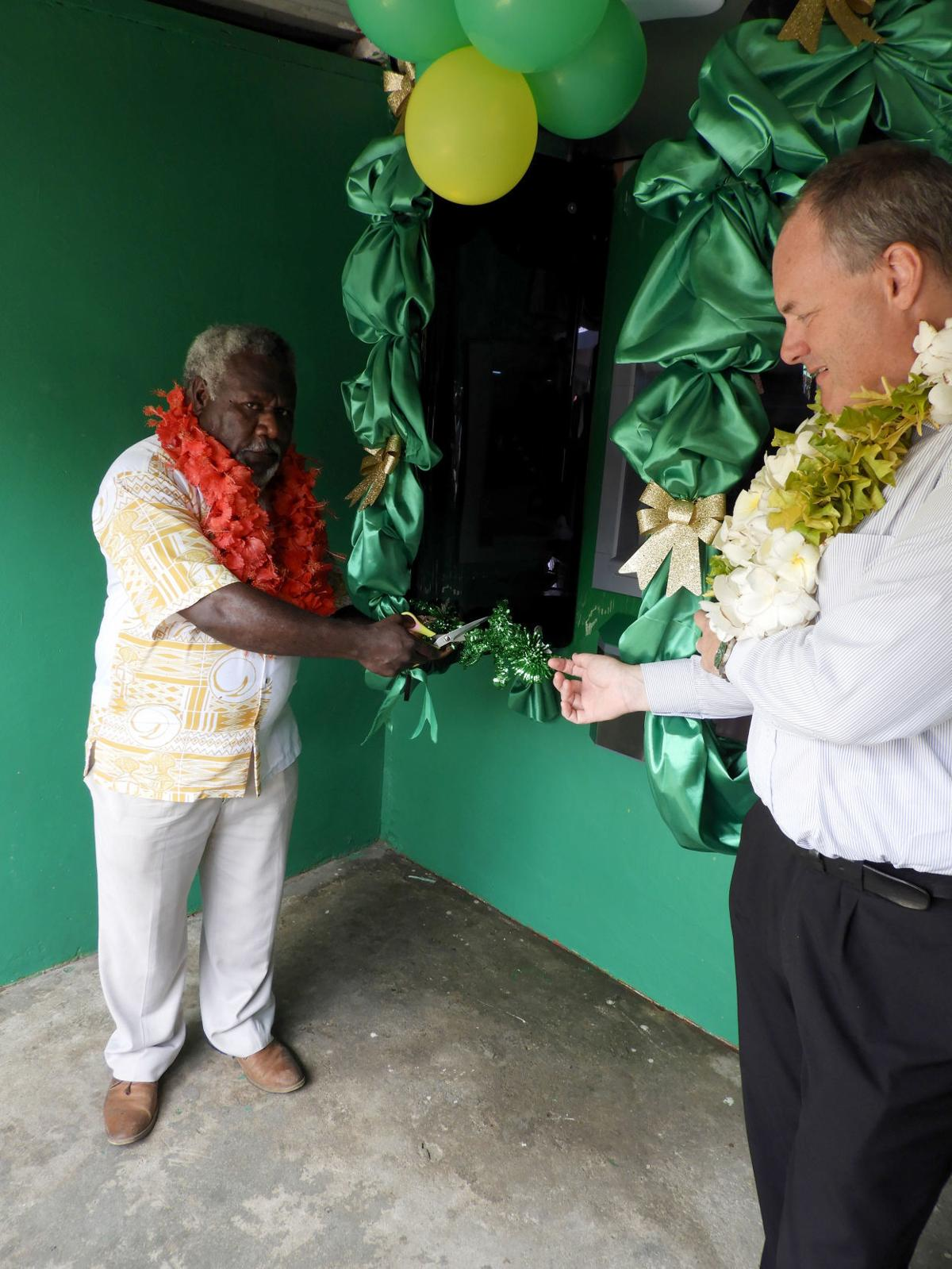 NBV Launches ATM At North Efate