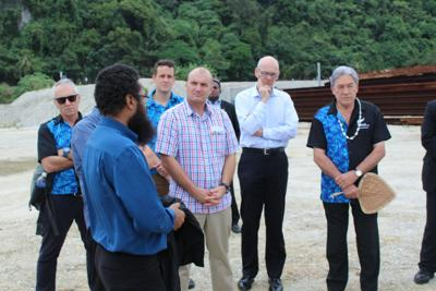 NZ Foreign Minister briefed on status of South Paray domestic wharf project