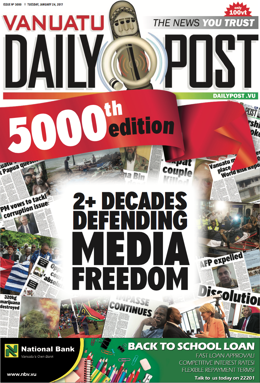 5000th Issue Pullout