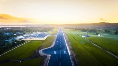 Passenger Movements at Bauerfield International Airport