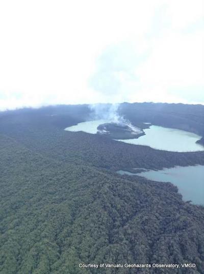 Ambae volcano 'now stable' : VMGD