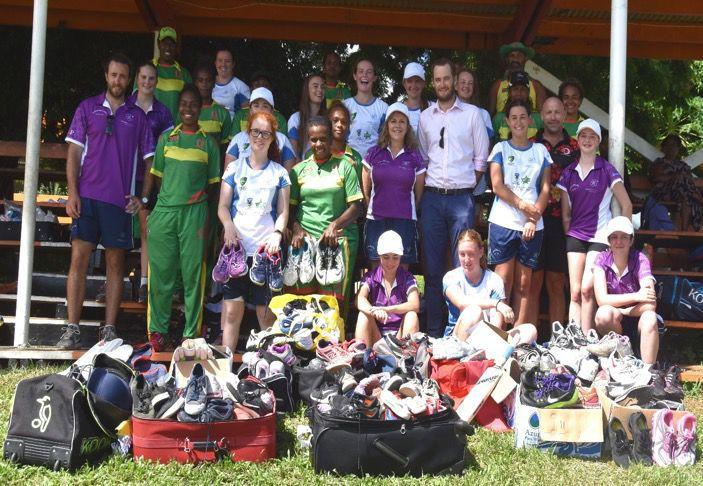 Building sports linkages between Australia and Vanuatu through Women's Cricket