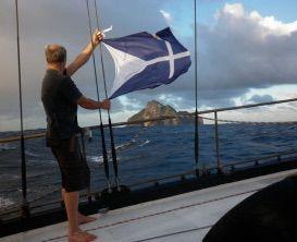 Lostisland Flag at Hunter