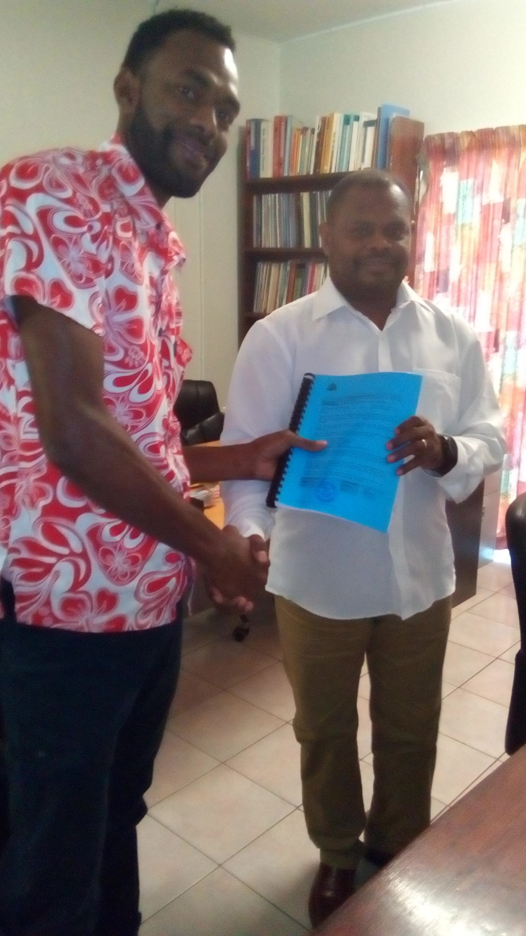 Health Minister Signs Contracts