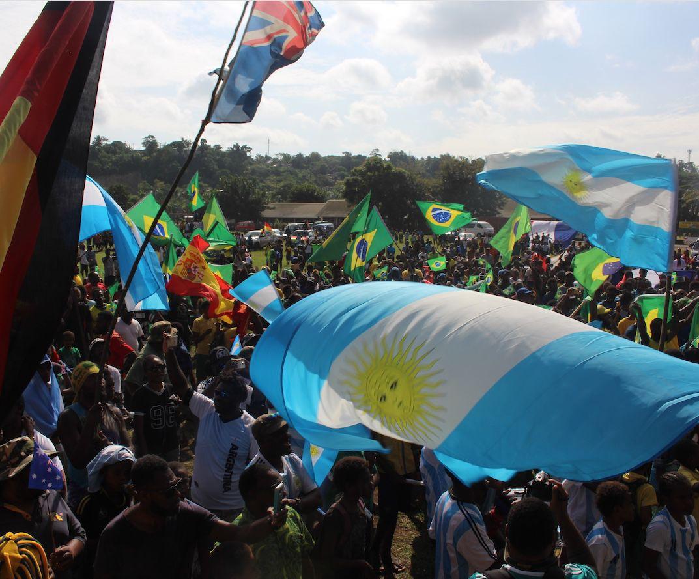 FIFA World Cup Fever Grips Vanuatu