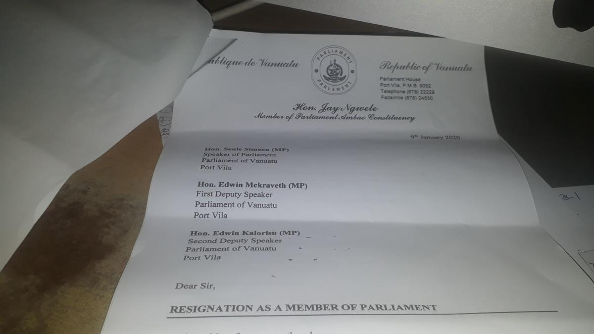 Jay Ngwele resigns as MP
